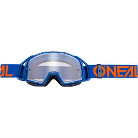 ONeal B-20 Goggle FLAT blue/orange-clear